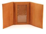 Ultra Slim Trifold Wallet Tan