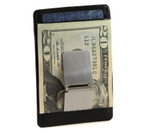 Slim Front Pocket Money Clip with ID