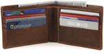 Bifold Wallet Open Toffee