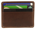 Pull Out Card and ID holder Toffee