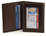 Executive RFID Trifold Men's Wallet Brown