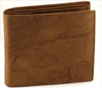 Bifold Wallet Center Wing Tan
