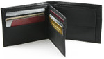 Bifold Coin Wallet with Wing