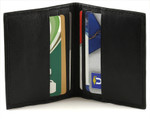 Book Style Leather Credit Card Holder