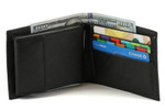 Buxton Convertible Billfold Open Black