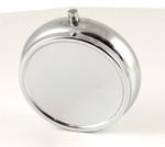 Round Metal Pill Holder