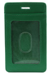 ID & Credit Card Lanyard Holder - Green Front