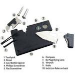 Multi Purpose Credit Card Size Survival Tool