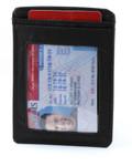 Big Skinny Magnetic Money Clip Card Holder ID Holder