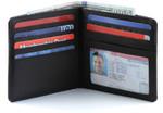 Big Skinny RFID Blocking Leather Hipster Wallet
