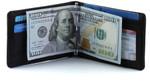 Big Skinny Leather Acrobat Money Clip Wallet