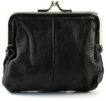 Small Leather Change Purse Back