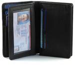 RFID Credit Card Holder ID & Gusset Pocket