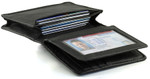 RFID Credit Card Holder Gusset Pocket