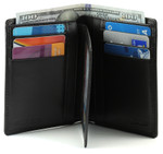 Bi-Fold Wallet Center Flap