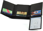 RFID Trifold Wallet for Men Show Your ID