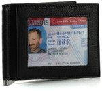 RFID Money Clip Wallet Front