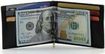 RFID Money Clip Wallet Open