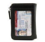 ID Holder with Gusset Pockets.