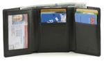Tri-Fold Wallet Open