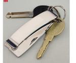 Folding Knife Money Clip On Keychain