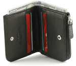 Osgoode Marley RFID Billfold With Zip Pocket Open