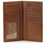 RFID Secretary Wallet - Brandy