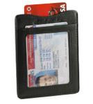 Magnetic Money Clip Card Holder - Center Pocket