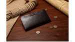 Secure Snap Closure Coat Wallet