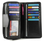 Credit Card Slots, Bill Compartment and ID