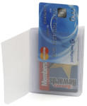 Top Loading Plastic Wallet Insert