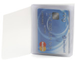 Trifold 10 Page Top Loading Plastic Wallet Insert Tab