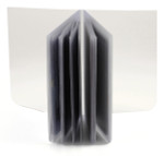 Trifold 10 Page Top Loading Plastic Wallet Insert