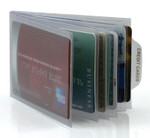 Bifold 6 Page Passcase Plastic Wallet Inserts