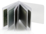 Bifold 6 Page Multi-Use Wallet Inserts