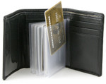 Trifold 6 Page Top Loading Wallet Inserts