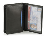 Credit Card Case and ID Window Black