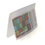 Plastic Wallet Inserts - Secretary 6 Page Credit Card Holder