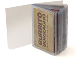Trifold 20 Page Top Loading Wallet Inserts