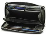 Ladies Leather Wallet Open