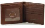 Bifold Trifold Wallet - Brandy