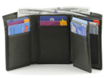 Osgoode Marley RFID Extra Page Trifold Leather Wallet
