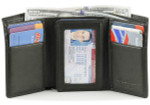 Men's Trifold Wallets Open
