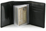 Example of Wallet Insert Inside Trifold Wallet