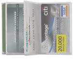 Trifold 10 Credit Card Pages
