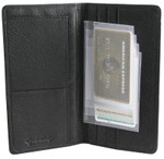 Plastic Wallet Inserts - Secretary 4 Page Credit Card Holder