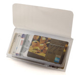Plastic Wallet Inserts - Secretary 12 Page Credit Card Holder