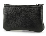 Small Leather Pouch- Black