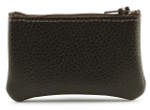 Leather Coin Purse- Brown
