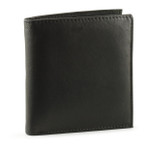 Mens Leather Hipster Wallet Front